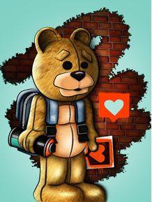 quadro-urban-bear