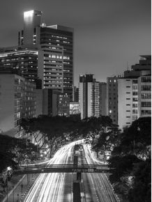 quadro-sao-paulo-night-traffic-ii