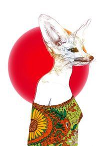 quadro-lady-kitsune
