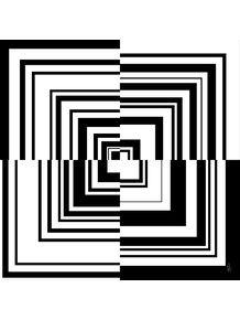 quadro-serie-abstratos-linhas-quadradas-preto