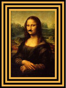 quadro-minimal-monalisa-moustache