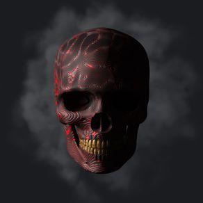 quadro-red-skull-01