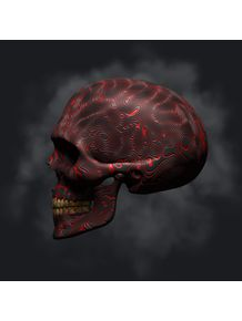 quadro-red-skull-02