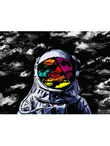 quadro-astronauta-psicodelico