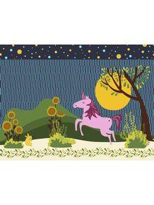 quadro-unicornio-no-jardim