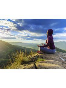 quadro-meditacao-yoga-montanha