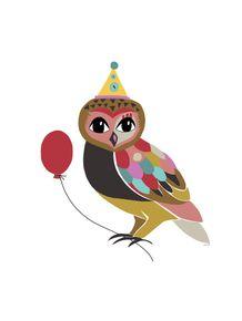quadro-coruja-na-festa