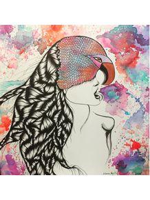 quadro-bird-woman