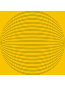 quadro-geometric-pulse-yellow