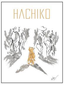 quadro-hachiko