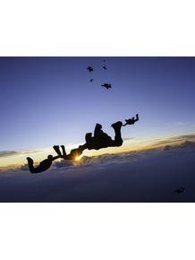 quadro-voando-sunset-paraquedistas