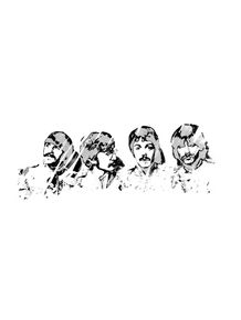 quadro-beatles-line-art-2
