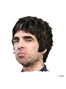 quadro-noel-gallagher-low-poly
