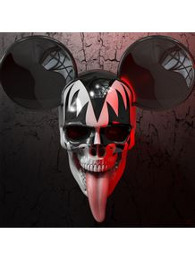 quadro-mickey-kiss-skull