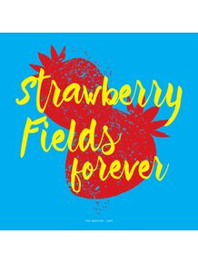quadro-the-beatles-strawberry-fields-forever-quadrado