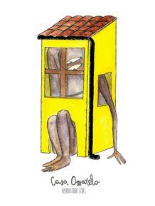 quadro-casa-amarela