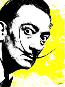 quadro-salvador-dali-yellow