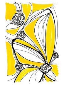 quadro-ondas-florais-1-amarelo