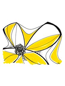 quadro-ondas-florais-2-amarelo
