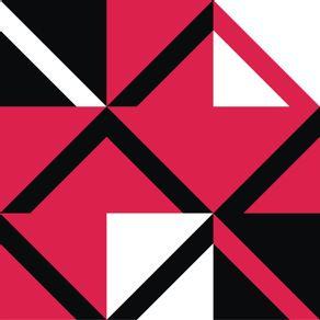 quadro-diagonal-red