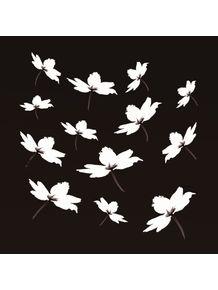quadro-flor-branca-fundo-preto