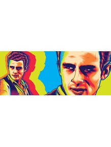 quadro-james-byron-dean-the-rebel
