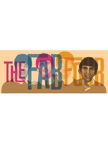 quadro-the-beatles-fab-four