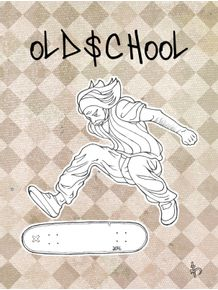 quadro-old-school-skater
