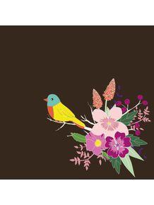 quadro-bird-blossom