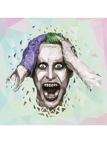 quadro-joker-jared-leto-polygon-art