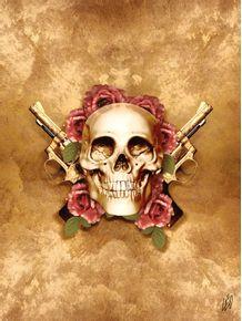 quadro-luxury-skull