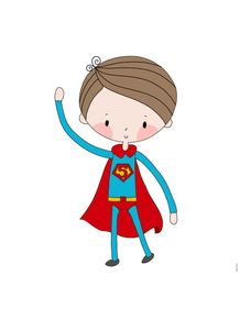 quadro-super-boy--super-menino