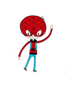 quadro-super-boy--menino-aranha