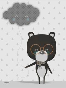quadro-urso-e-a-nuvem