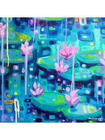 quadro-water-lilies