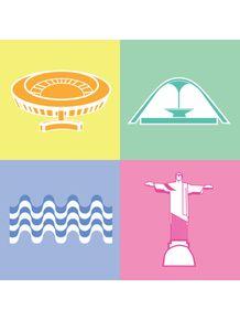 quadro-icones-do-rio