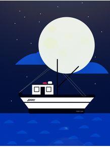 quadro-forrest-gump-jenny-boat