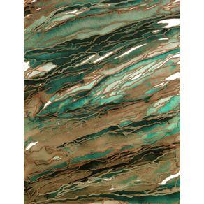 quadro-agate-magic--tan-dark-green