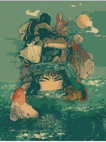 quadro-lady-sea