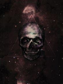 quadro-spaceskull