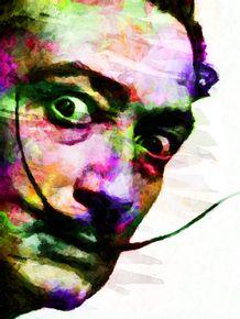 quadro-dali-colorfull