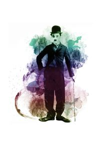 quadro-chaplin-colorful