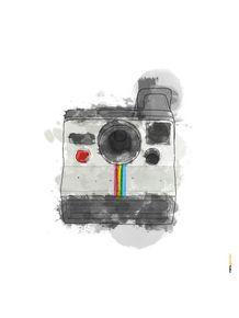quadro-camera-polaroid-aquarela