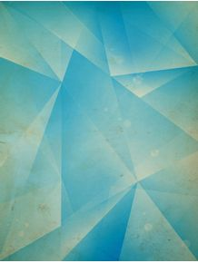 quadro-geometric-triangule-blue