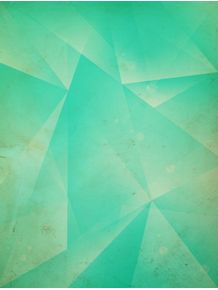 quadro-geometric-triangule-green