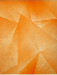quadro-geometric-triangule-orange