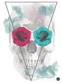 quadro-skull-girl-i