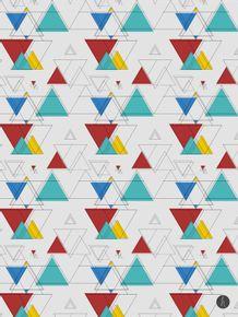 quadro-triangulos-coloridos
