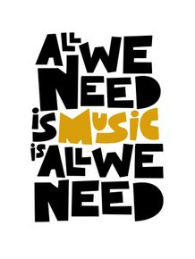 quadro-all-we-need-is-music-is-all-we-need
