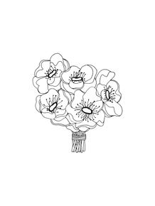 quadro-flor-black